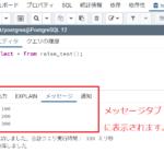 【PostgreSQL】変数の値を画面に出す(raise)【デバッグ用にも】